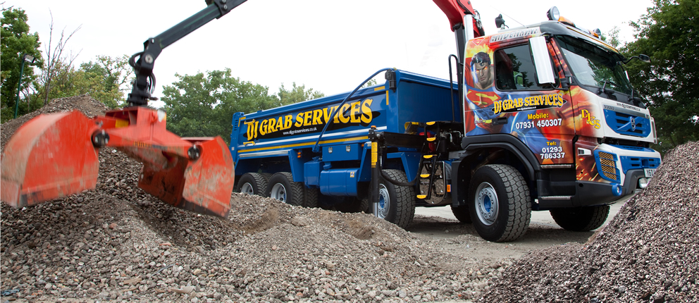 Recycled aggregates supplied and delivered in Surrey Sussex and London